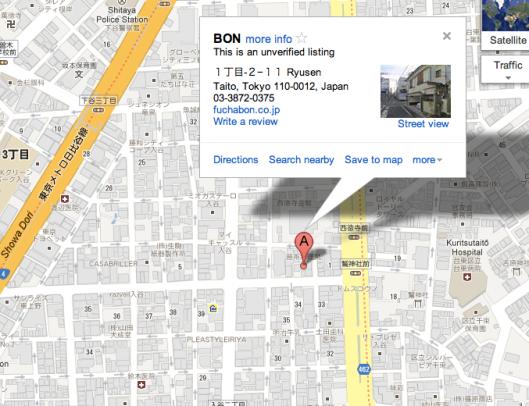 Bon - Google Maps