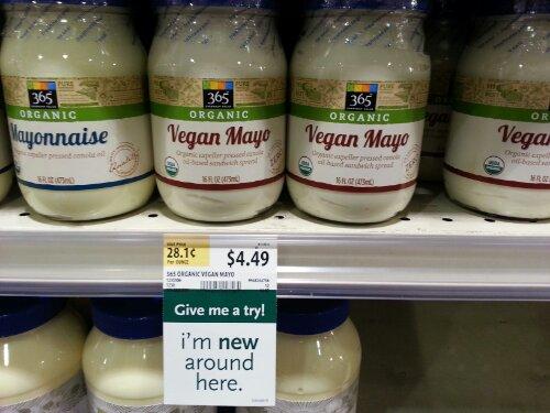 Whole Foods Vegan Mayo? | TOFUsenshi.com
