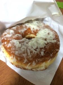Coconut Citrus donut